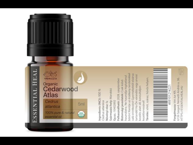 Cedarwood Atlas Organic - Organikus Atlaszcédrus illóolaj