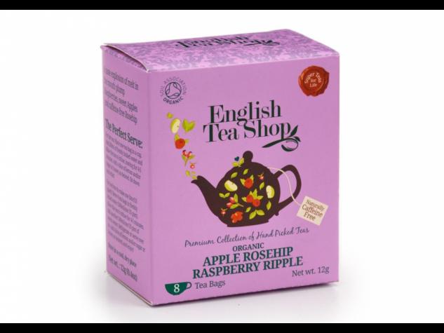 ETS 8 Almás & Málnás csipkebogyó bio tea