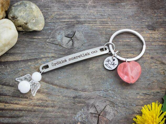 Örökké szeretlek Anya kulcstartó