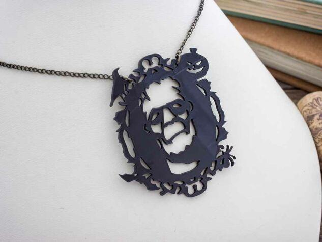Frankenstein szörnye plexi medál nyakláncon