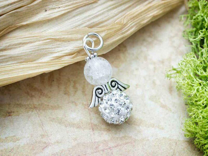 Hegyikristály ásvány medál